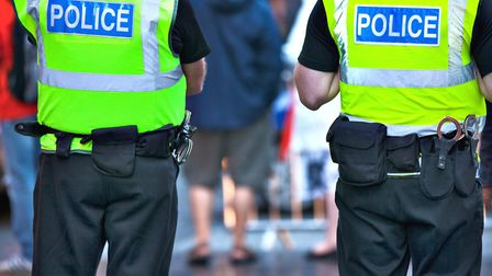 Police officers on duty Picture: GETTY IMAGES