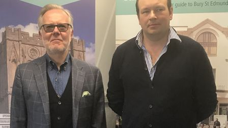 Rob Billett, left, and Paul Brown who have joined the board of Our Bury St Edmunds Picture: OUR BURY