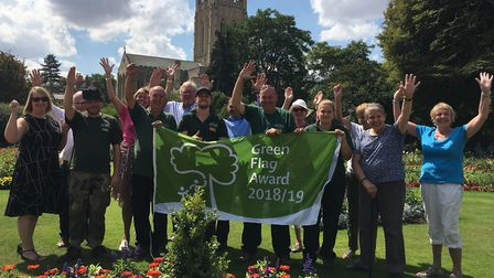 Abbey Gardens retained the award for a seventh year Picture: MICHAEL STEWARD