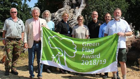 Aspal Close Nature Reserve in Mildenhall was given a Green Flag award for the first time Picture: WE