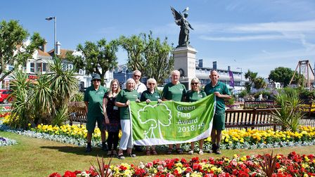 Clacton Seafront and Marine Gardens scooped a Green Flag Picture: TENDRING DISTRICT COUNCIL