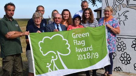 Cliff Park in Dovercourt were also winners Picture: TENDRING DISTRICT COUNCIL