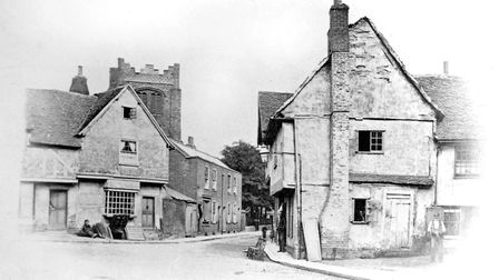 This photo was taken at the junction of Black Horse Lane and Elm Street, Ipswich Picture: DAVID KIND