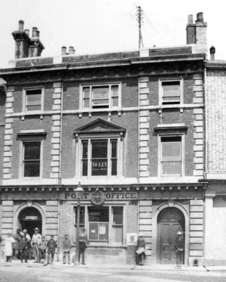 This was Ipswich's main post office from 1856 to 1881 Picture: DAVID KINDRED