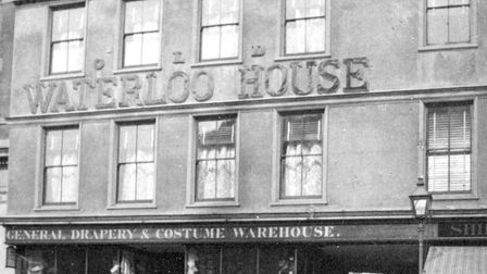 Waterloo House on the Cornhill Picture: DAVID KINDRED