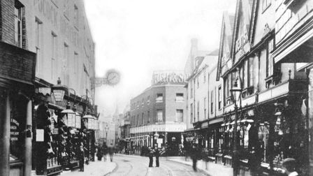 Tavern Street from near the corner of Dial Lane, which is off to the right Picture: DAVID KINDRED