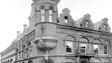 This building at the corner of Carr Street and Little Colman Street was home to local newspapers for
