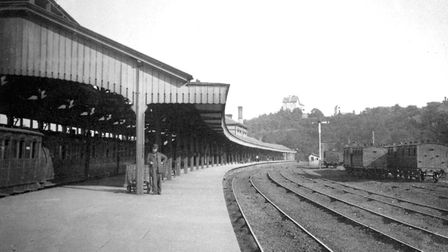 Ipswich station on its present site opened in 1860 Picture: DAVID KINDRED
