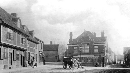 Fore Street, at the junction with Back Hamlet and Fore Hamlet Picture: DAVID KINDRED