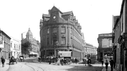 Princes Street, Ipswich, at the junction of Friars Road and Friars Street Picture: DAVID KINDRED