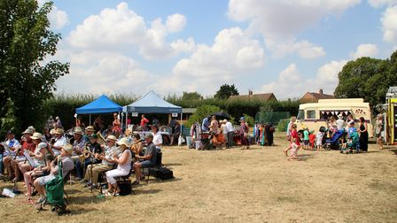 Live music stalls and ice-cream were a key part of the day Picture: SAM THURLOW