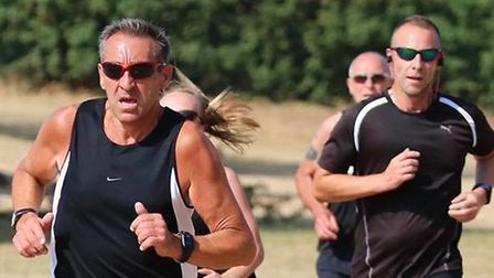 Action from Saturday's Great Cornard parkrun, which attracted a field of 138. Picture: GREAT CORNARD