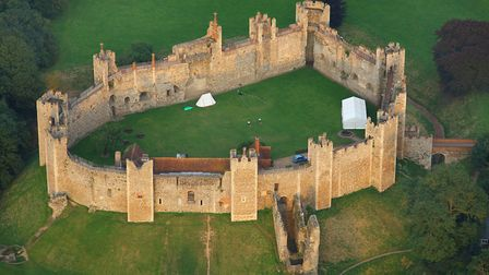 Picture by Mike Page shows :- Framlingham Castle