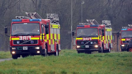 Six crews are attending a fire in Middleton Picture: PHIL MORLEY