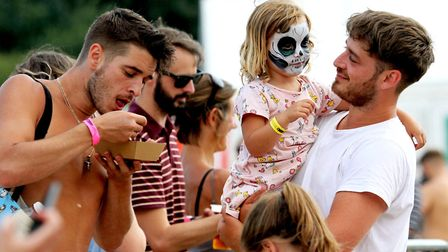 Families and friends all enjoyed the live music and other entertainment, such as face painting, that