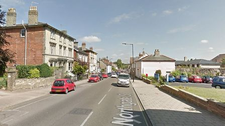 The incident happened on Northgate Street in Bury St Edmunds Picture: GOOGLE MAPS