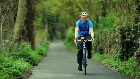 Calls have been made for more investment in Suffolk's cycle path network File picture: PHIL MORLEY