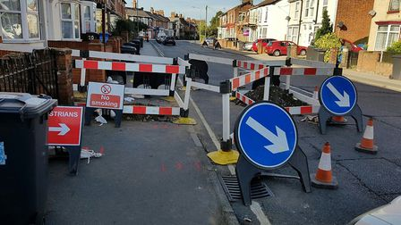 Issues with works in the roads where no-one was working have been raised Picture: ARCHANT