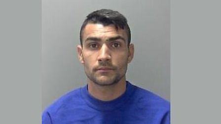 Rapist Marian Pavel was jailed for the Sudbury attack. Picture: SUFFOLK CONSTABULARY