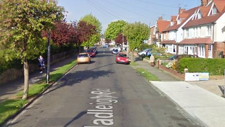 The attack happened in Hadleigh Road, Frinton-on-Sea Picture: GOOGLE MAPS