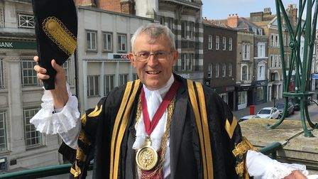 Mayor of Colchester Councillor Peter Chillingworth. Picture: Colchester Borough Council