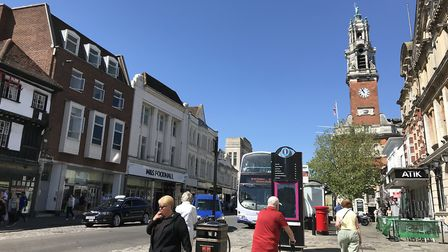 Colchester High Street in 2018