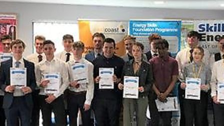 The Energy Skills Foundation Programme 2018 cohort Picture: EEEGR