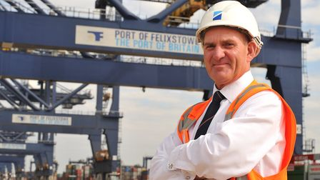 The Port of Felixstowe's new Portmaster, Ashley Parker Picture: SARAH LUCY BROWN