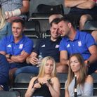 Paul Hurst watches on in the stands at Chelmsford City Picture: ROSS HALLS