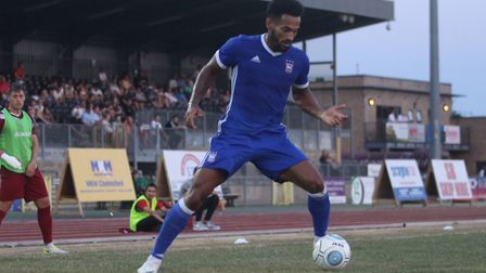 Summer signing Jordan Roberts in action at Chelmsford Picture: ROSS HALLS