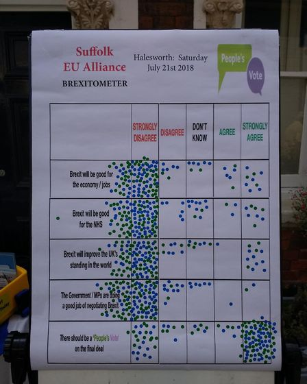 The campaigners claimed the political momentum is shifting in Suffolk Picture: PHILIP GOUGH