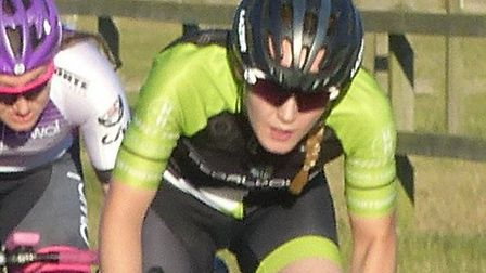 Gemma Melton (Pedal Power Ipswich) was fourth in the Ipswich BC Road Race and prime winner at Trini