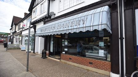 Martins Bakery on Woodbridge Road. Picture: ARCHANT