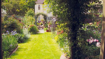 Rosedale at Bures - exactly the kind of garden that can be full of wildlife ths summer. Picture: NA