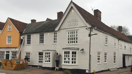 The Angel Hotel in Lavenham Picture: ARCHANT