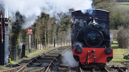The Mid Suffolk Light Railways is suspending steam operations Picture: ANDREW MUTIMER