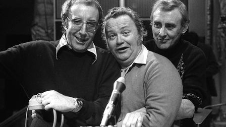 The Goons made the most of radio's potential for mind pictures (L-R) Peter Sellers, Harry Secombe an
