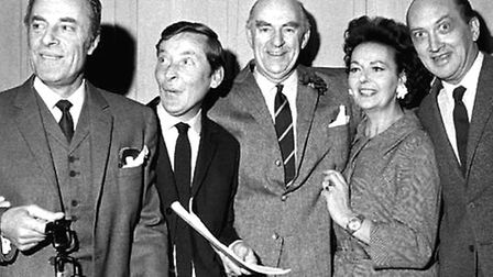 Round the Horne - purveyors of risque humour on a seemingly respectable Sunday lunchtime comedy show