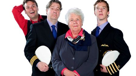 The comedy hits keep flying in - the cast of the BBC Radio 4 series Cabin Pressure: John Finnemore,