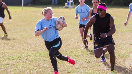 The Seckford Shield is one of the region's finest touch rugby events. Picture: SIMON BALLARD