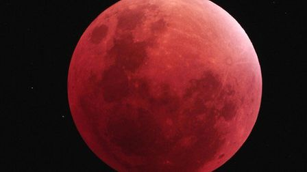 A lunar eclipse is due to take place on Friday, July 27. Picture: DAVID MURTON/DARSHAM ASTRONOMICAL