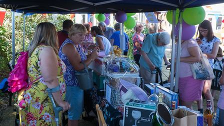 MOre than �700 was raised for the nursing home's residentss fund Picture: BARRY CROSS