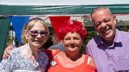Staff, residents, family and friends enjoyed some fun in the sun at the nursing home's summer fete P