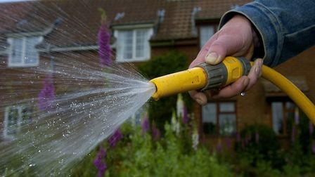 Will there be a hosepipe ban? PHOTO: Simon Finlay