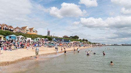 Clacton's 'bucket-and-spade' beaches were praised by the newspaper Picture: PAVEL KRICKA