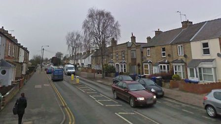 The raid happened at a property in the vicinity of Exning Road, Newmarket, picture: GOOGLE