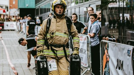 Action from last year's British Firefighters Challenge Picture: KAY ZIEBA PHOTOGRAPHY www.kayzieba.