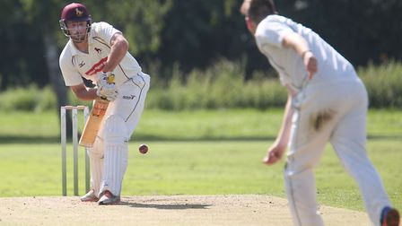 Tom Huggins, who made 58 after taking six wickets in Sudbury's latest victory. Picture: RICHARD MARS