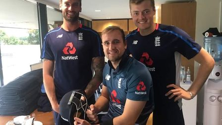 Three former Minor Counties Cricket Festival young cricketers who represented England Lions just thr