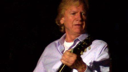 Justin Hayward had a hit with the single Forever Autumn. Picture: Matt Becker